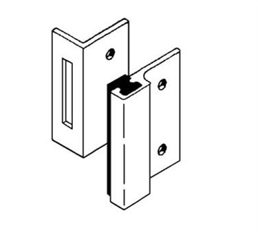 Franklin Machine Products  141-1081 Strike, Universal (Stall Door )