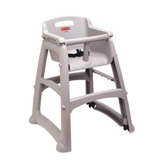Commercial Sturdy Chair Youth Seat, Plastic, 23-3/8