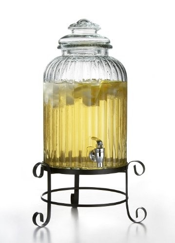 Jay Import 210919-GB Style Setter Springfield Beverage Dispenser with Stand