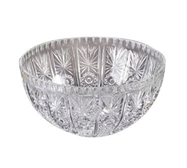 Styrene Crystal 12-Qt. Punch Bowl With Pedestal - 7