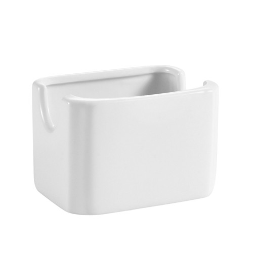 Sugar Package Holder American White 3 1/8