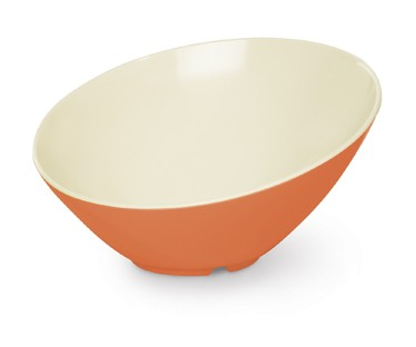 G.E.T. Enterprises B-790-ST Sunset 1.9 Qt. Melamine Cascading Bowl