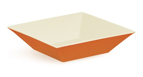 G.E.T. Enterprises ML-247-ST Sunset Melamine 2.5 Qt. Square Bowl 10""