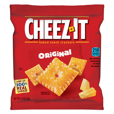 Sunshine Cheez-It Crackers, Single-Serving Snack Pack, 8/Box