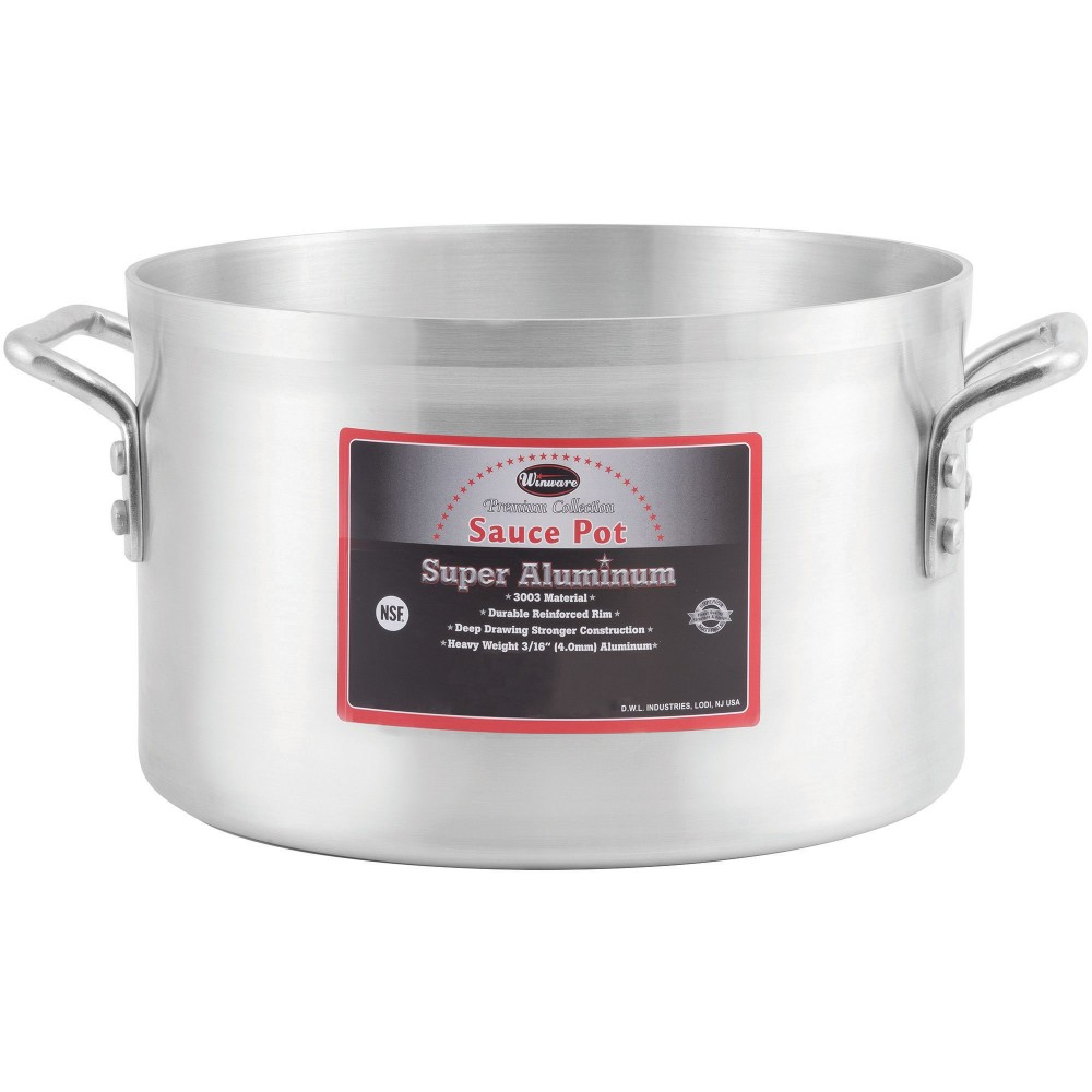 Super Aluminum 34 Qt  Sauce Pot