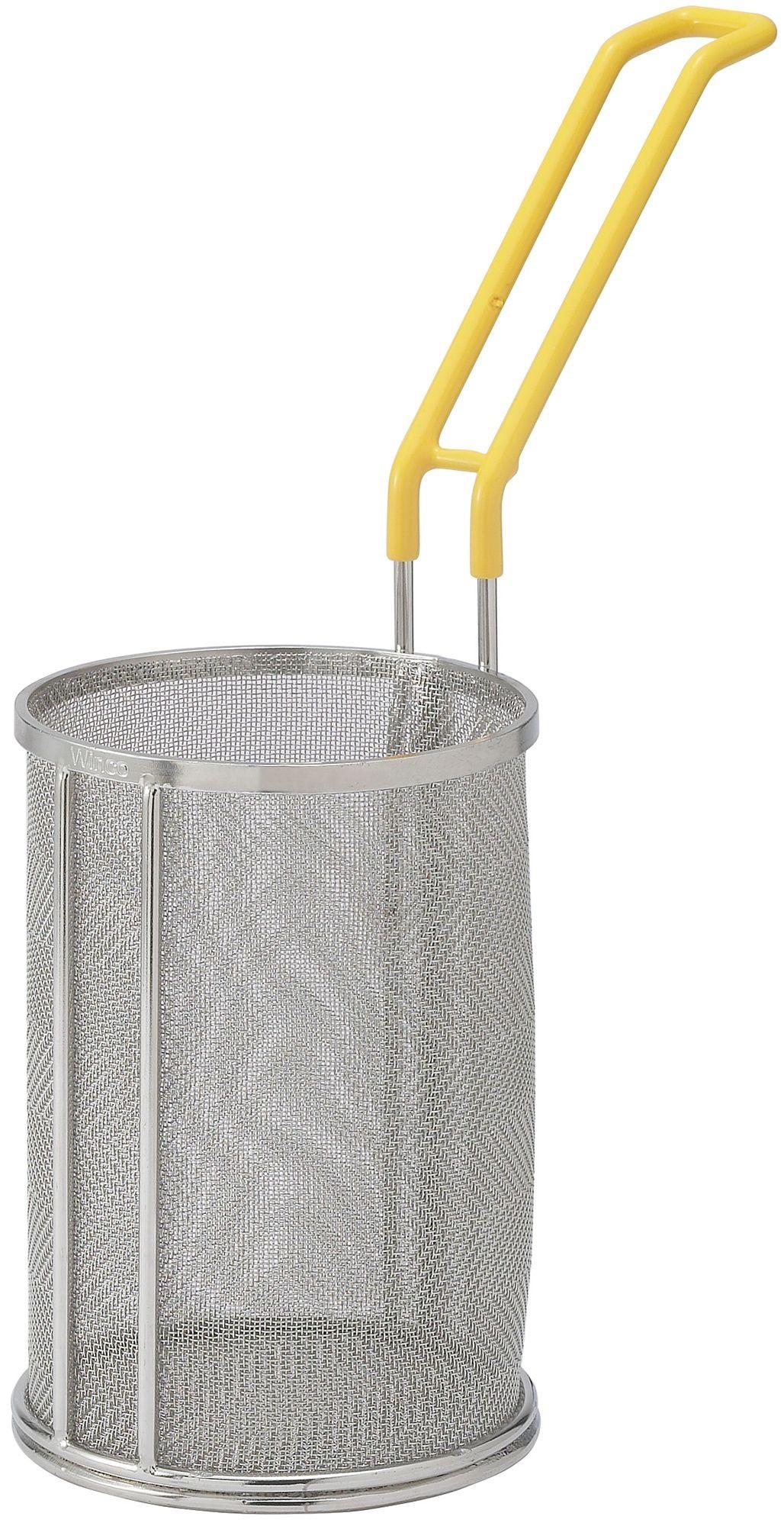 """Winco MPF-57 Super Fine Mesh Pasta Basket, 5"""" x 7"""""""