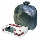 Super Heavy Garbage Can Liner, 33 X 39, Gray