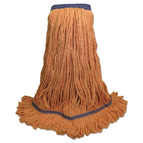 Super Loop Mop Head, X-Large Cotton/Synthetic, Orange