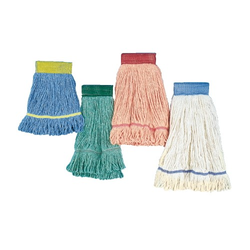 Super Loop Mop Head X-Large Cotton/Synthetic, Green