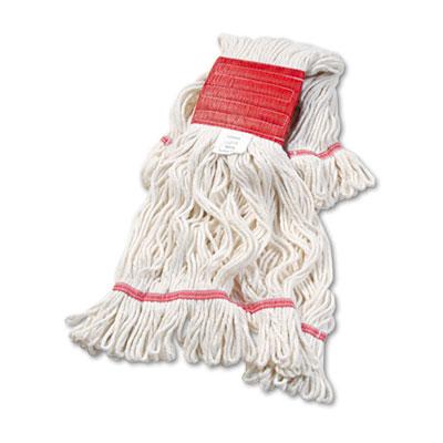 Super Loop Wet Mop Head, Cotton/Synthetic Fiber, 5