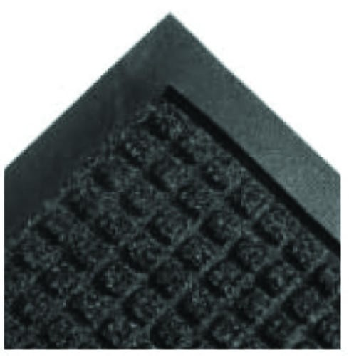 Super-Soaker Wiper Mat w/Gripper Bottom, Polypropylene, 36 x 120, Charcoal