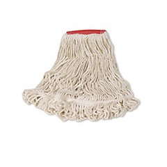 Blend Mop Heads, Synthetic, White, Large