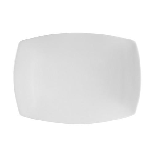 """CAC China COP-RT51 Coupe Porcelain Rectangular Platter, 14-1/2"""" x 9-3/4"""""""