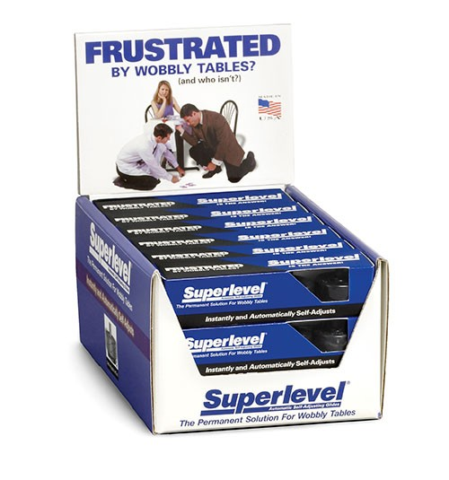 TableCraft B14-49ACD Superlevel Counter Display, (Contains 18 Individual Packs)