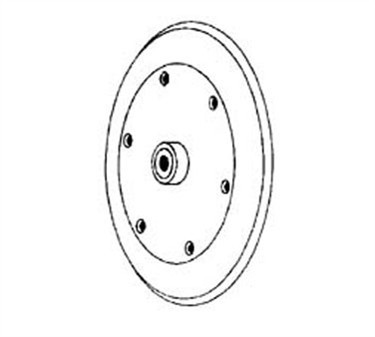 Franklin Machine Products  203-1017 Support, Center Plate (8-3/4Od)