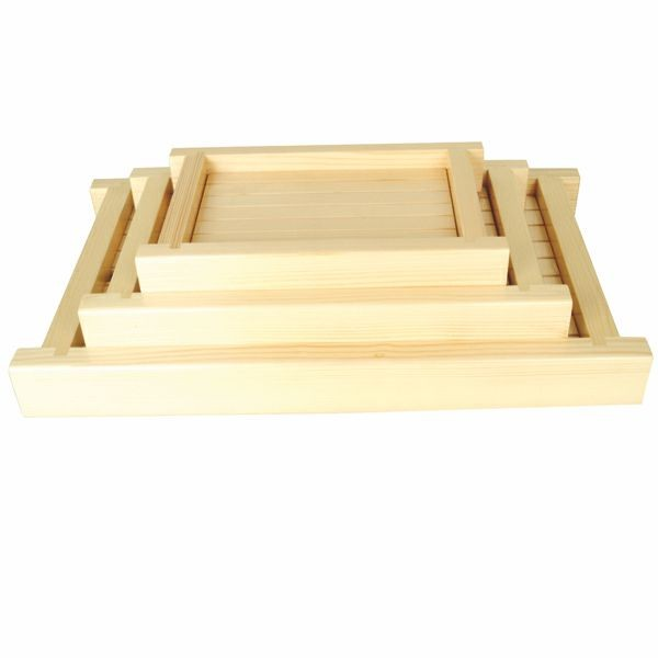 "Thunder Group Y-55 Small Sushi Serving Tray 12-1/2"" x 8"""