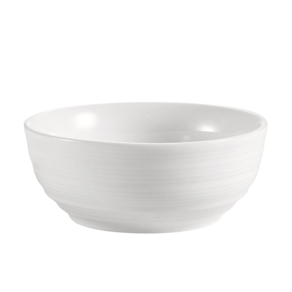 CAC China SUS-4 Sushi Signature 4.5 oz. Small Round Bowl, 4""