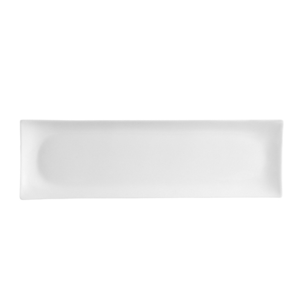 "CAC China SHA-41 Sushia Rectangular Platter, 13 5/8"" x 4"""