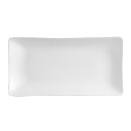 "CAC China SHA-34 Sushia Rectangular Platter, 8""x 4"""