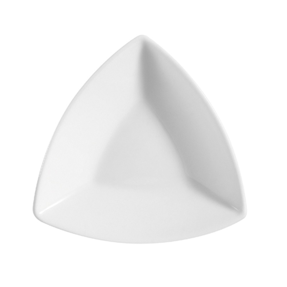 CAC China SHA-T7 Sushia Triangular Plate, 7 1/2""