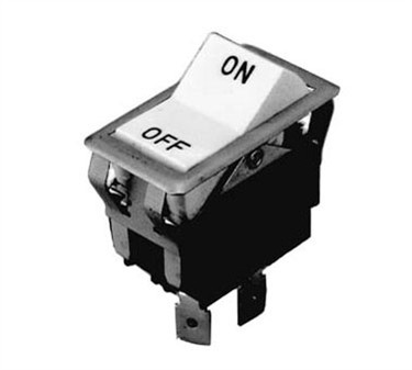 Franklin Machine Products  187-1032 Switch, Hi/Off/Lo (Dpdt, Black)