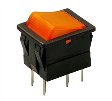 Franklin Machine Products  178-1049 Switch, Hot Water (Rckr, Amber)