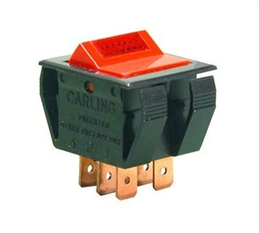 Franklin Machine Products  228-1266 Switch, On/Off (Dpst, with Indicatr)