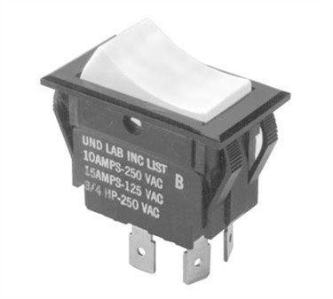 Franklin Machine Products  149-1069 Switch (Rckr, Dpst, On-Off, Tt )