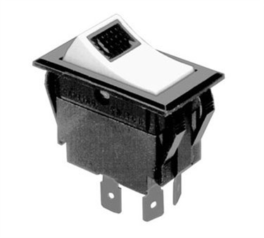 Franklin Machine Products  149-1075 Switch (Rckr, Dpst, On-Off, with Lt )