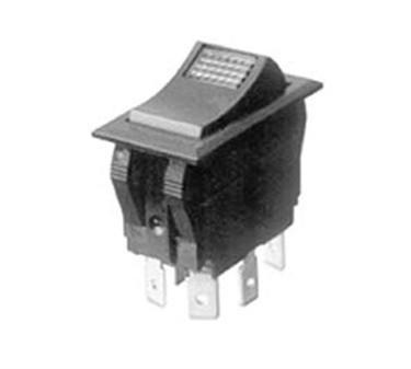 Franklin Machine Products  165-1037 Switch, Rocker (Dpdt, On/Off )
