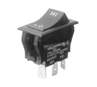 Franklin Machine Products  187-1117 Switch, Rocker (Spdt, Hi/Low)