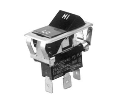 Franklin Machine Products  187-1118 Switch, Rocker (Spdt, Hi/Low)