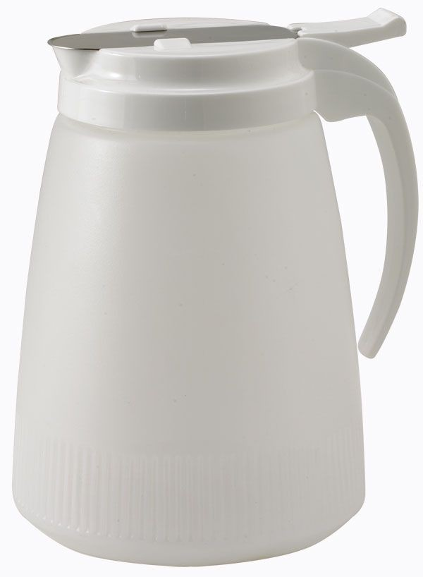 Winco PSUD-48 Syrup Dispenser, 48 oz.