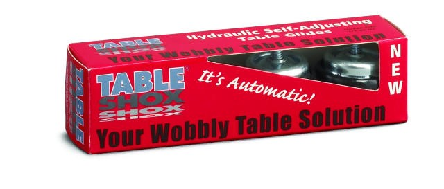 Table Shox Counter Display With 18 Individual Packs Of 4
