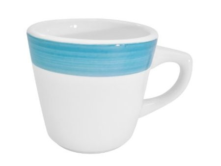 CAC China R-1 -BLUE Rainbow Blue Tall Cup 7.5 oz