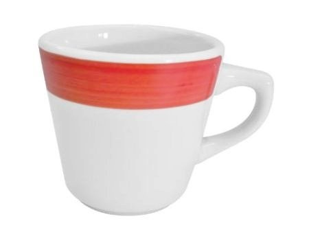 CAC China R-1-R Rainbow Red Tall Cup 7.5 oz