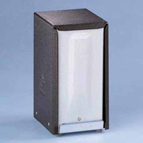 Tall-Folded Napkin Dispenser, 3.9 X 4.4 X 7.4, Chrome & Black