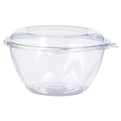 Tamper-Resistant, Tamper-Evident Bowls with Dome Lid, 32 oz, Clear, 150/Carton