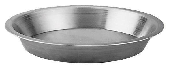 "Johnson-Rose 64509 Aluminum Pie Pan 9"" x 7-1/2"" x 1-1/4"""