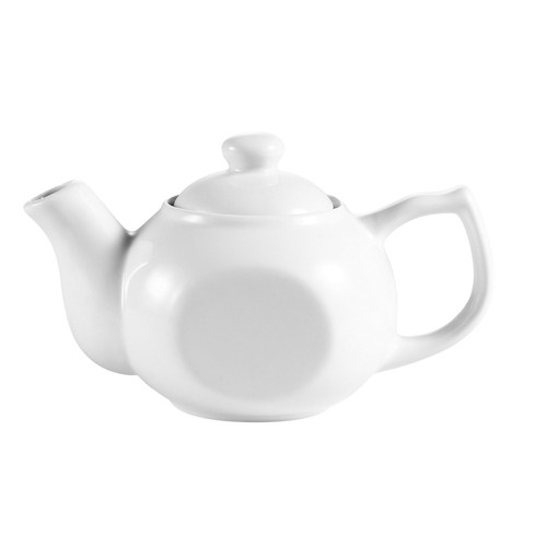 CAC China TPW-4 Accessories Tea Pot with Raised Lid 10 oz.
