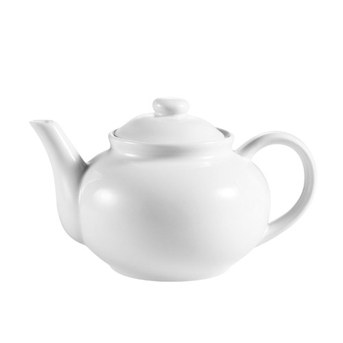 CAC China TPW-3 Tea Pot with Raised Lid 40 oz.