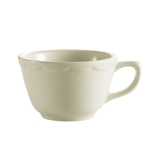 CAC China SC-1 Seville Scalloped Edge Coffee Cup 7 oz.