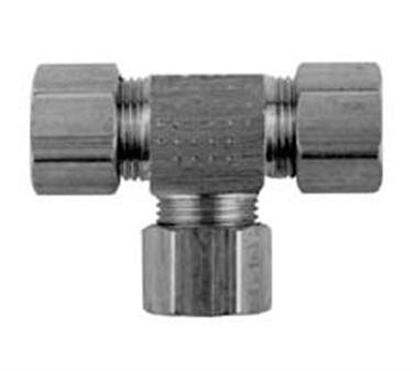 Franklin Machine Products  158-1150 Tee, Compression (1/8Od )