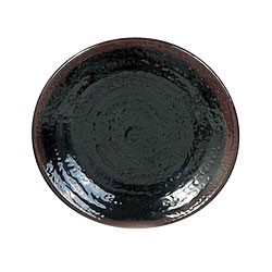 Temoku Melamine Plate - 8-1/4