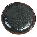 Thunder Group 1808TM Tenmoku Lotus Shape Melamine Plate 8-1/4""