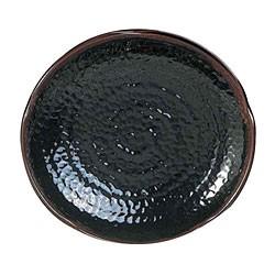 "Thunder Group 1814TM Tenmoku Lotus Shape Melamine Platter, 14"""