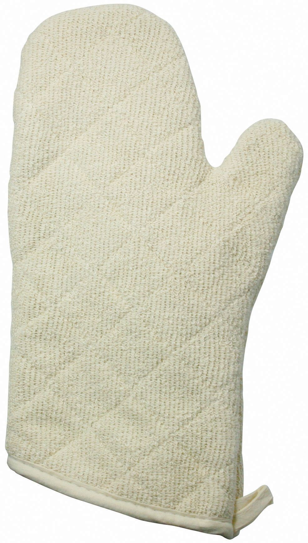 Terry Cloth Oven Mitt - 13 (Protects up to 600F)