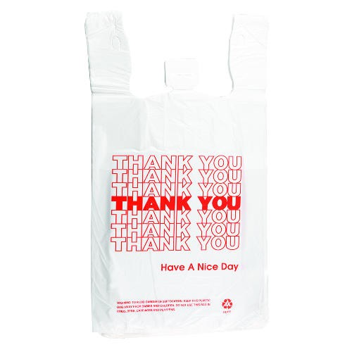 Thank You Bag- Plastic