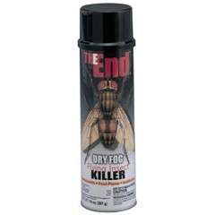 The End. Dry Fog Flying Insect Killer, 20oz. Can
