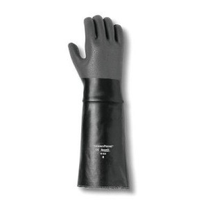 Thermaprene Heat-Resistant Gloves, Black/Gray, 26